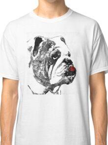 Bulldog Pop Art - How Bout A Kiss 2 - By Sharon Cummings Classic T-Shirt
