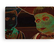 Psychadelic Dollies  Canvas Print