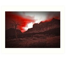 Into the Gloaming Art Print