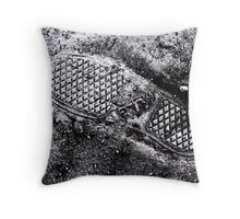 Vans on the Moon Throw Pillow