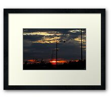 The Sun Has Come To Hold You Framed Print