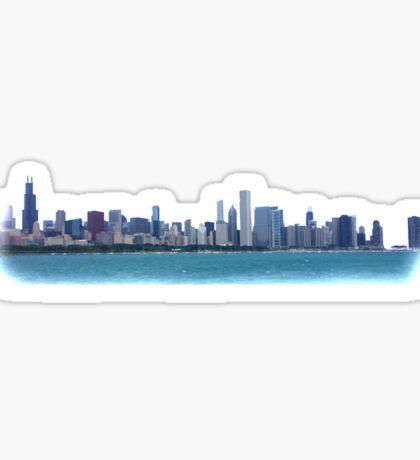 Chicago Skyline Photo Sticker