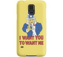 I Want You To Want Me Samsung Galaxy Case/Skin