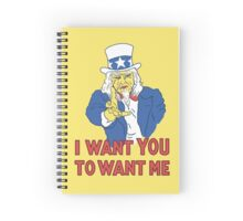 I Want You To Want Me Spiral Notebook