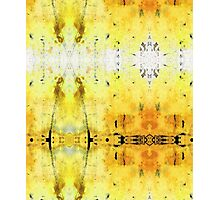 Yellow Abstract Art - Good Vibrations - By Sharon Cummings Photographic Print