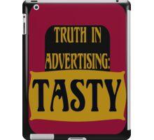 TRUTH IN ADVERTISING:  TASTY iPad Case/Skin