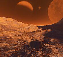 Martian Terrain by Junior Mclean