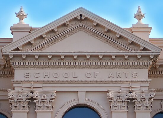 School of Arts Facade - Rockhampton Australia by Gryphonn