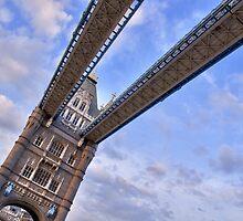 Tower Bridge from below by Mario Curcio
