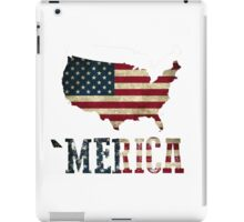'Merica with U.S. Outline iPad Case/Skin