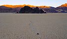 Dawn on the Race Track Playa by Zane Paxton