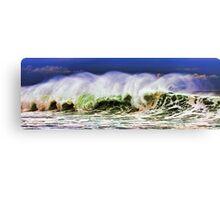 Ocean Power Wave Canvas Print