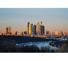 International Business Center Moscow-City Photographic Print