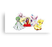 Pokemon Canvas Print