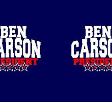 Ben Carson for President 2016 by Garaga
