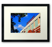 AMC Movie Theater Framed Print