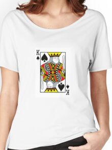King of Spades  Women's Relaxed Fit T-Shirt