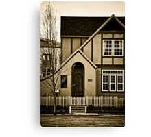 Suburba Two Canvas Print