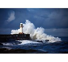 South Gare (Stormy) Photographic Print