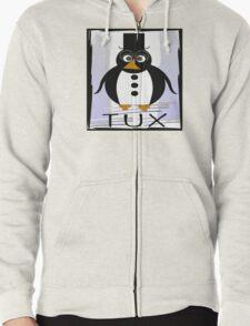 TUX:  FORMAL Zipped Hoodie