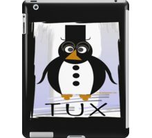TUX:  FORMAL iPad Case/Skin