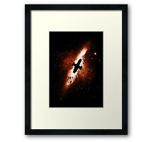 Firefly in the Sky Framed Print