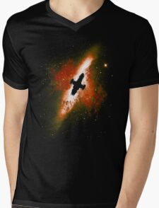 Firefly in the Sky Mens V-Neck T-Shirt