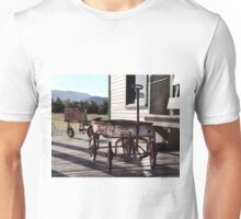 Vintage Toy Wagon and Tractor Unisex T-Shirt