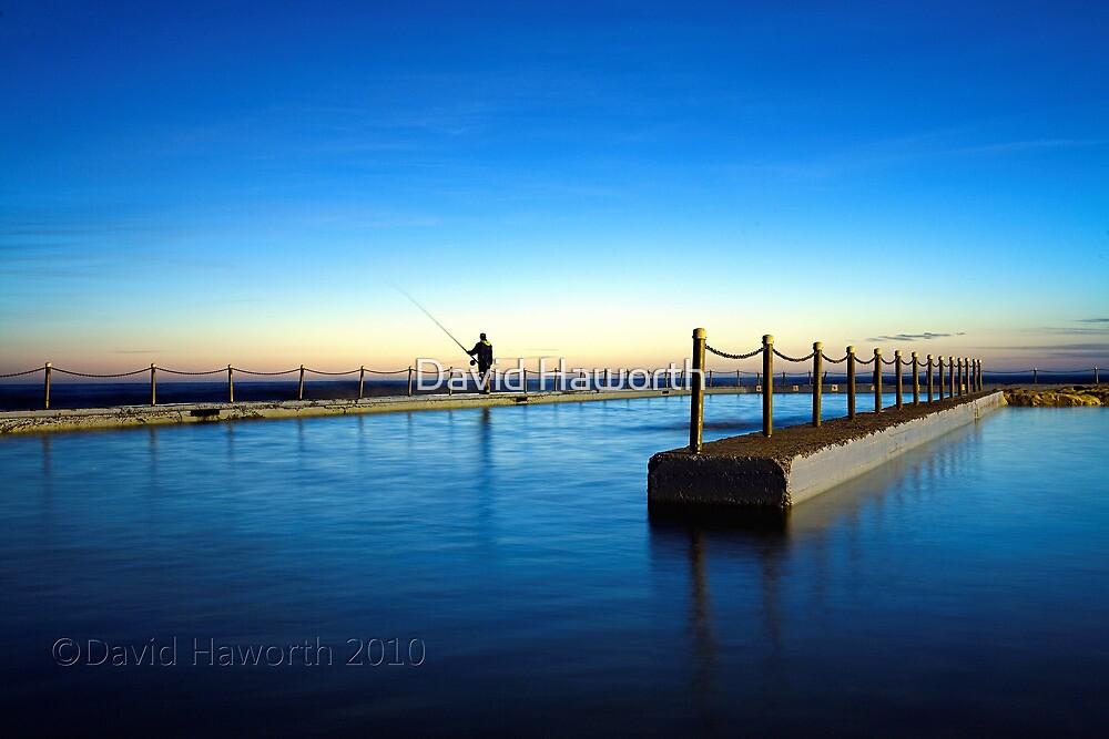 Fishing the Blue by David Haworth