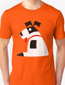 Dog in the Corner Vector T-Shirt