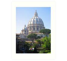 Gardens of Vatican City, Vatican Art Print