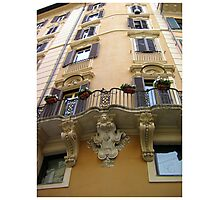 Architecture of Barcelona, Spain Photographic Print