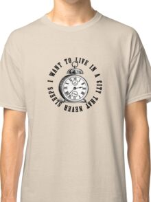 New York The City That Never Sleeps Classic T-Shirt
