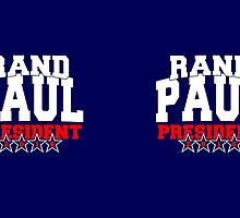 Rand Paul for President 2016 by Garaga