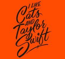 I Like Cats & Taylor Swift Kids Tee