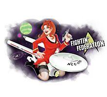 Fightin' Federation! Photographic Print