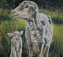 Mother and Son by Dianne  Ilka