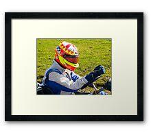 Race 4 Heroes Framed Print