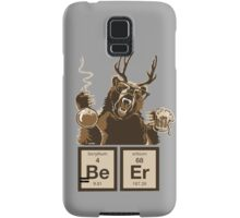 Chemistry bear discovered beer Samsung Galaxy Case/Skin