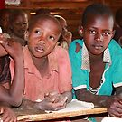 Masai children in School by maureenclark