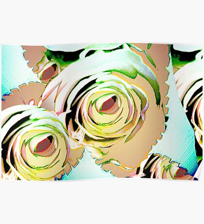 I promise you a rose garden Poster