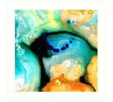 Colorful Abstract Art - The Calling - By Sharon Cummings Art Print