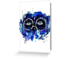Valley of Ashes Greeting Card