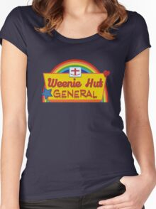Weenie Hut General Women's Fitted Scoop T-Shirt