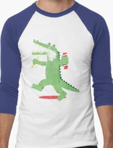 Squeaky Clean Fun Men's Baseball ¾ T-Shirt