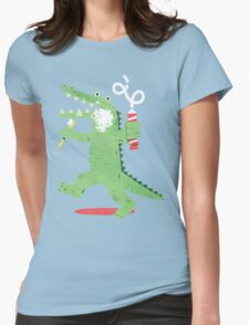 Squeaky Clean Fun Womens Fitted T-Shirt