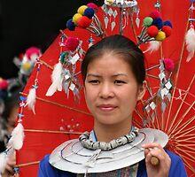 Red Umbrella by maureenclark