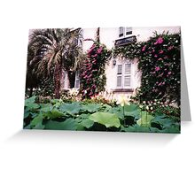 Isola Madre, Borromeo Palace & gardens, Lake Maggiore, Italy Greeting Card