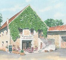 Auberge du Vieux Château, Varaignes, France by ian osborne