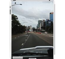 Driving in The City iPad Case/Skin